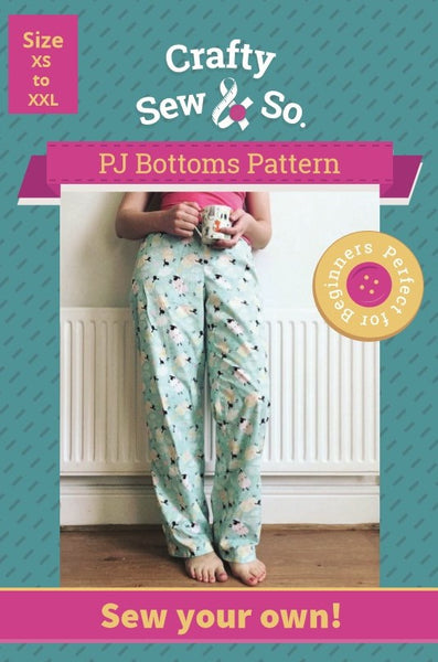 Pyjama Kit - Printed Patterns and Fabrics