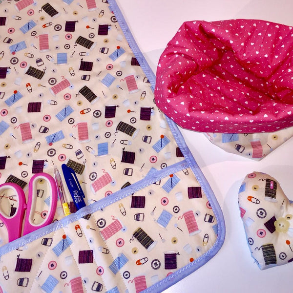 Learn to Sew - Sewing Machine Mat