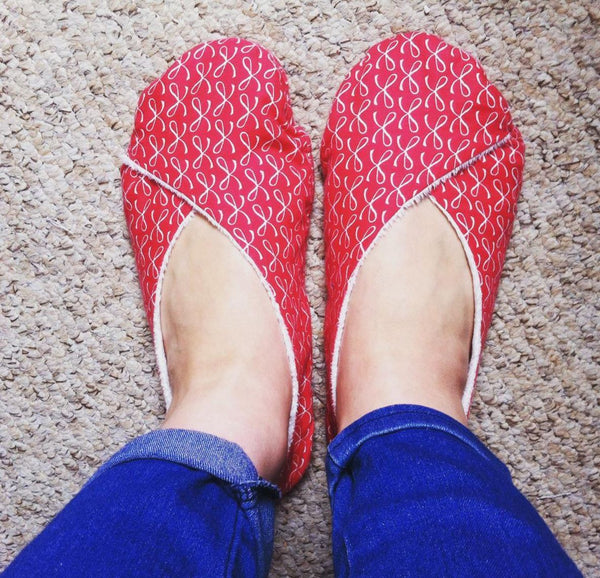 Learn to Sew - Slippers