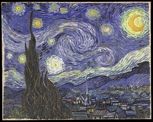 Paint Your Own Van Gogh / Van Gogh Painting Monday