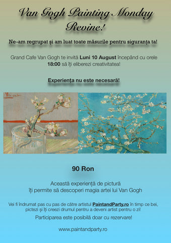 Van Gogh Painting Monday 10 August