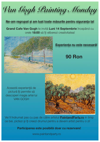 VAN GOGH PAINTING MONDAY 14 SEPTEMBRIE