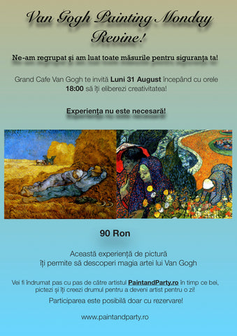 Van Gogh Painting Monday 31 August