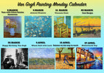 Paint Your Own Van Gogh / Van Gogh Painting Monday /Martie - Aprilie