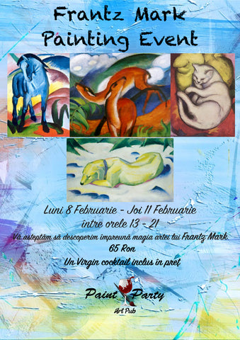 Frank Mark Painting Event 8- 11 Februarie
