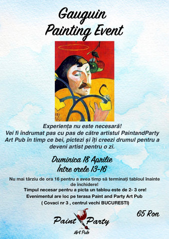 Gauguin Painting Event 18 Aprilie