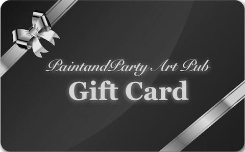 PaintandParty Art Pub GiftCard