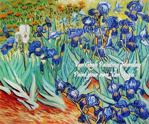 Paint Your Own Van Gogh / Van Gogh Painting Monday / Octombrie-Decembrie