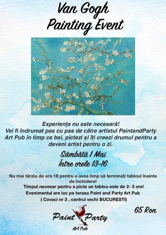 Van Gogh Painting Event 1 Mai