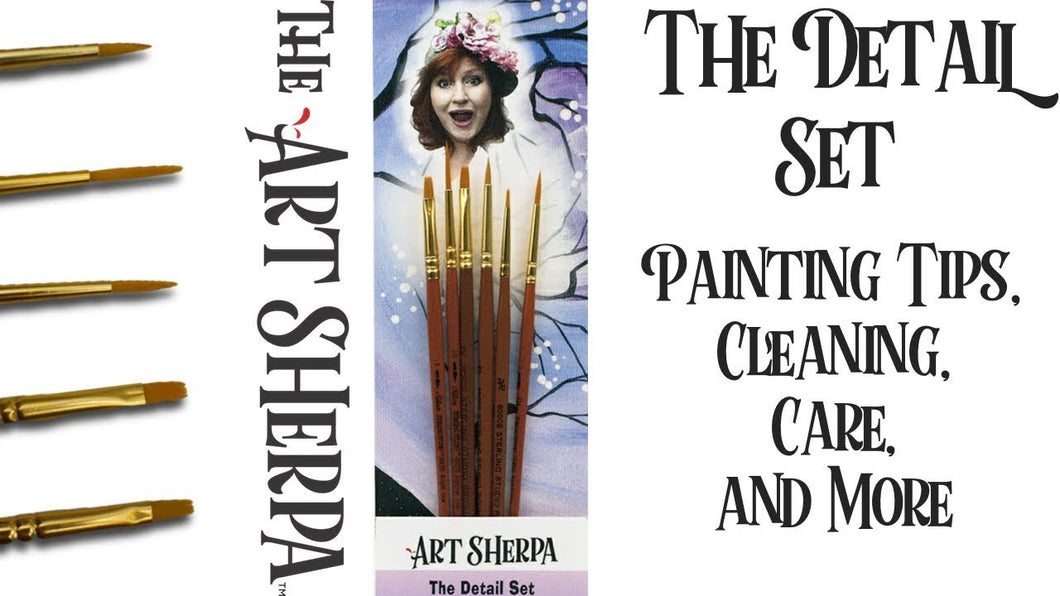 The Art Sherpa Detail Set