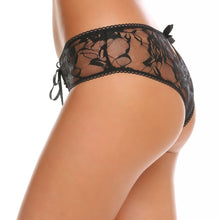 Hollow Lace Open Crotch Briefs Panty