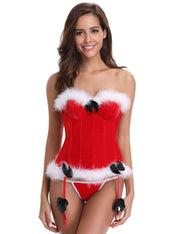 Christmas Slimming Bustier Corset Shapewear