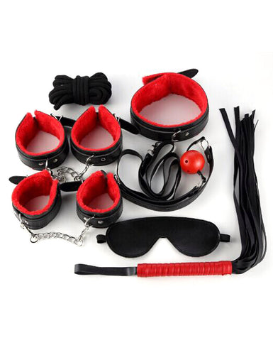 7Pcs Erotic Leather Sex Toys Set