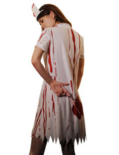 Nurse Cosplay Short Sleeve Bloody Dress