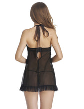 Halter Babydoll Dress with G-string