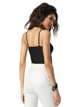 Solid V-Neck Bodysuit