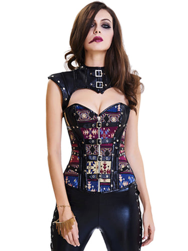 Sexy Punk Style Tight Vest Corset Top