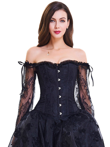 Lace Tight Vest Slim Bustiers Corset Top