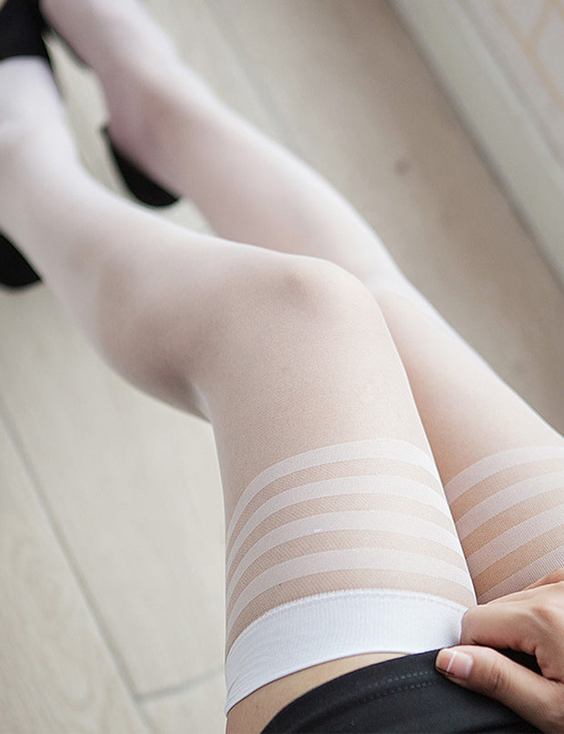 Sexy Sheer Thigh High Stockings