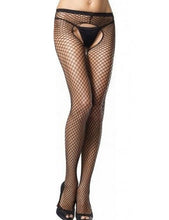 Fishnet Holes  Crotchless Stockings