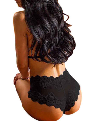 Comfortable Floral Lace Underwear