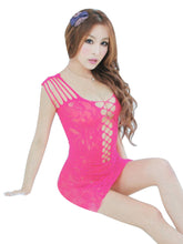 Strappy Chemise Mini Dress Nightwear