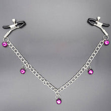 Metal Chain Nipple Clamps Clitoris Clip