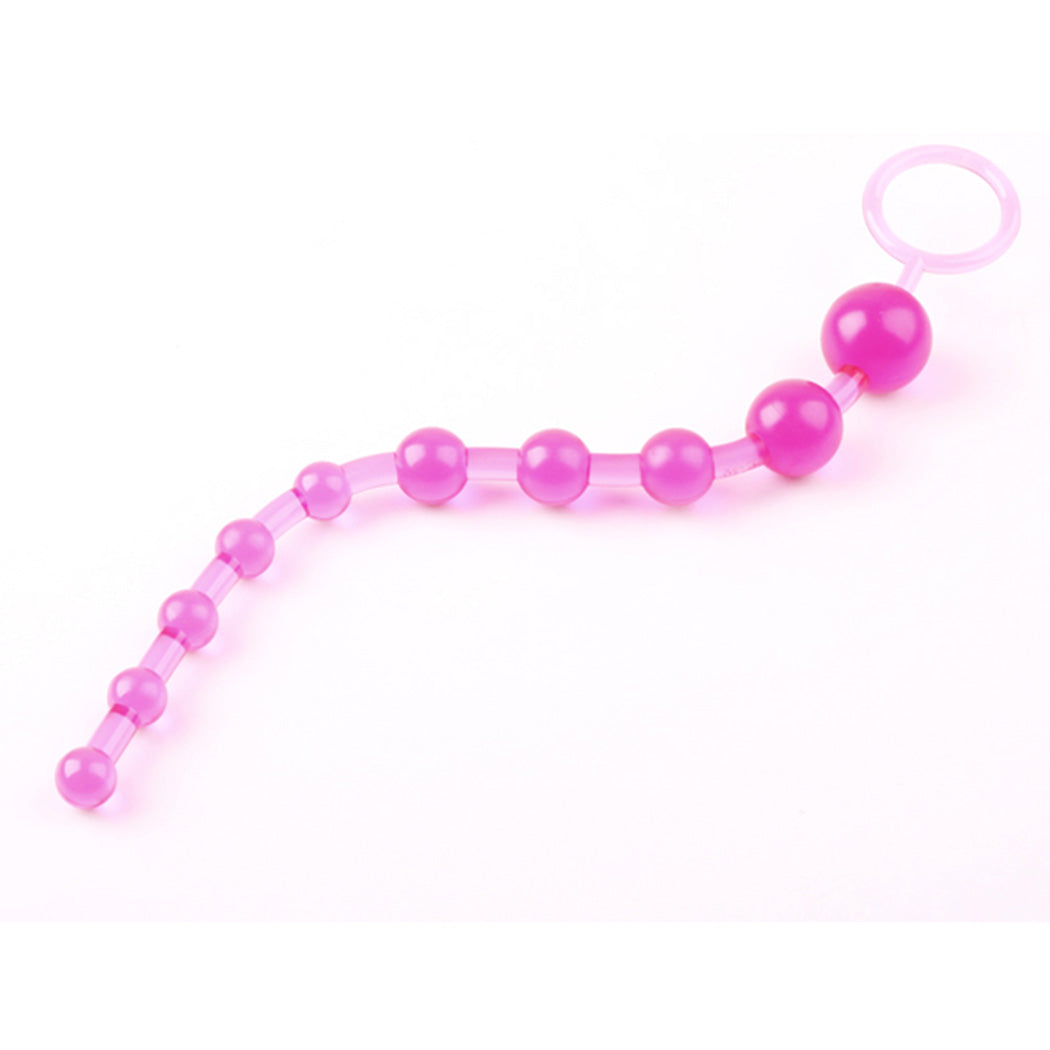 New Sexy Toy Douching Aids Silicone Anal Beads Plug