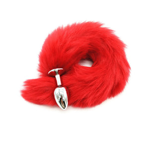 Fox Tail Butt Stopper Anal Plug