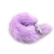 Faux Fox Tail Toys Butt Backyard Stopper for Women Douching Aids Anal Plug