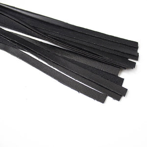 BDSM Leather Whip Handle Flogger
