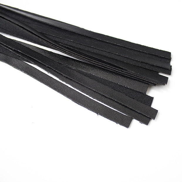Sexy Leather Whip Handle Flogger SM Restraint for Costume