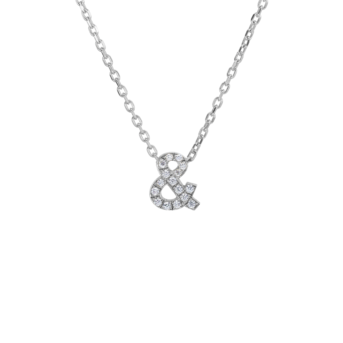Initial pavé Necklace