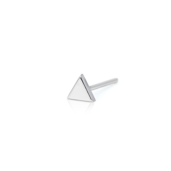 Triangle Earrings Pair Rose Gold / in stock