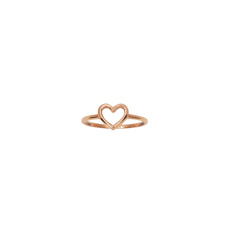 Heart Ring Rose Gold / in stock