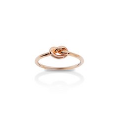 Knot Ring Rose Gold / in stock