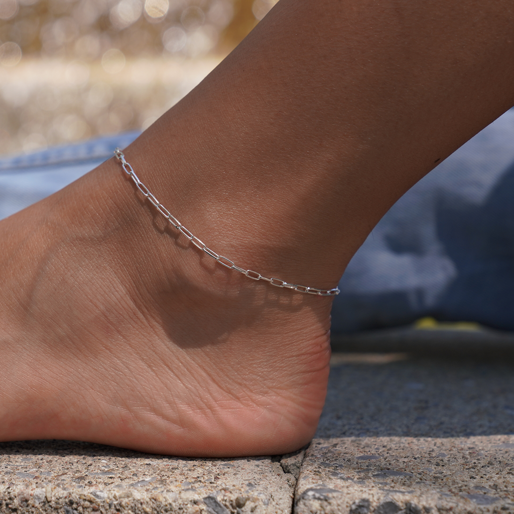 Paperclip - Anklet