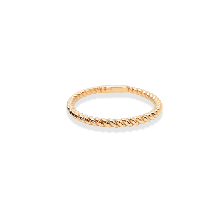 Twist Ring Gold / in stock