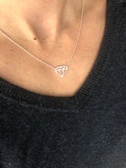 Diamond shape Necklace