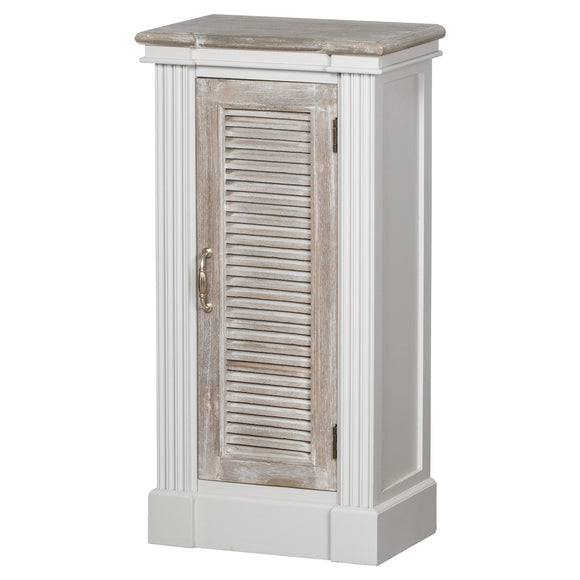 Liberty Collection Storage Cabinet With Louvered Doors - Triftware