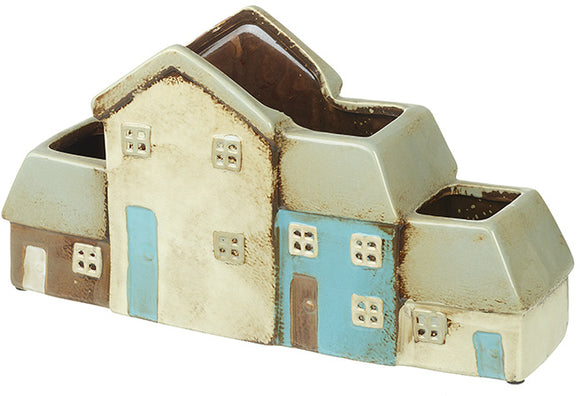 Ceramic House Planter - Triftware