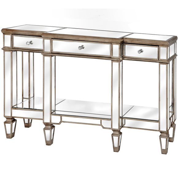 Belfry Collection Mirrored Display Console - Triftware