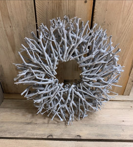 Natural Twig Wreath - Triftware