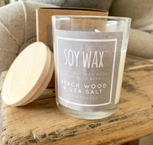 Desire Soy Wax Candle - Fig & Vanilla - Triftware