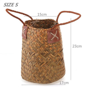 Foldable Seagrass Baskets - Triftware