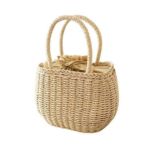 Woven Straw Bag - Triftware
