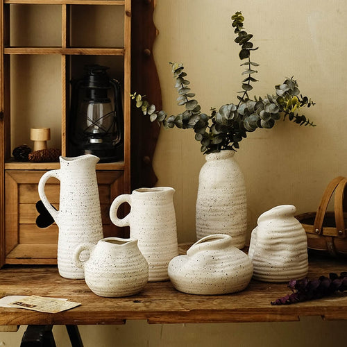 Nordic Simple Ceramic Vase - Triftware