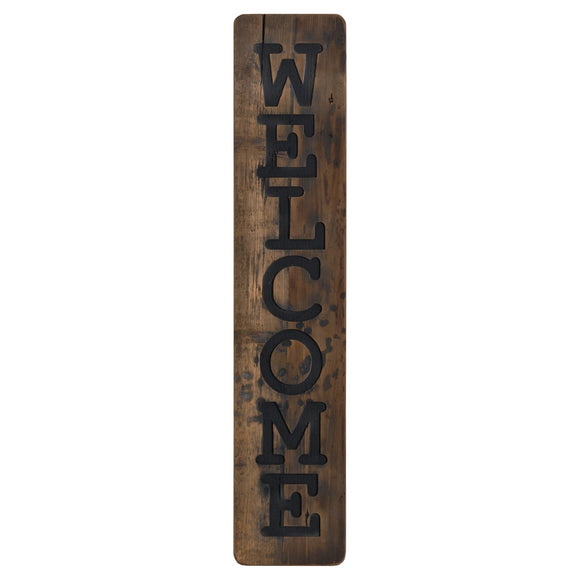 Welcome Wooden Plaque - Triftware