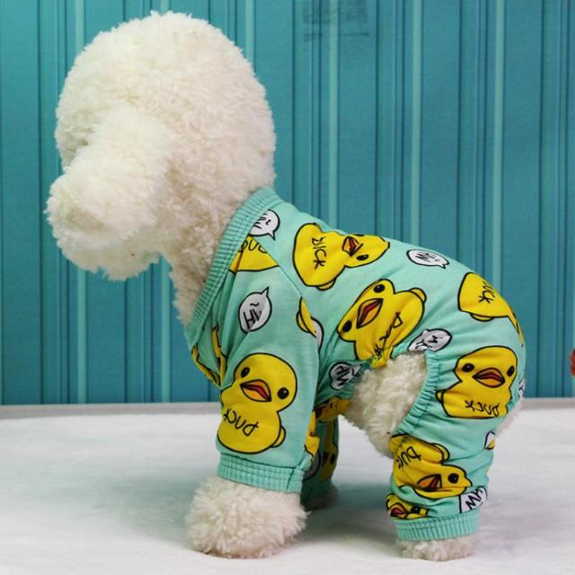 Duck Cartoon Pajamas