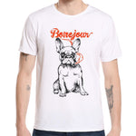 Smoking Dog T-shirt